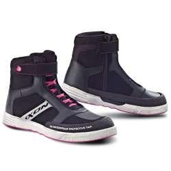 Chaussure Ixon SLACK LADY - Noir/Blanc/Fushia