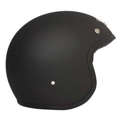 DMD Helm Vintage Schwarz Matt