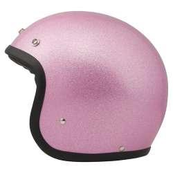 Casque DMD Vintage Glitter Pink