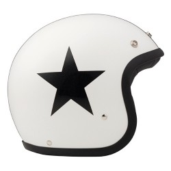 Casque DMD Vintage Star Blanc