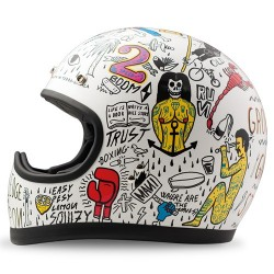 Casque DMD Racer Tribal