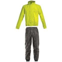 Acerbis Set De Pluie Rain Suit Logo Jaune Fluo-Noir