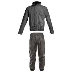 Acerbis Set De Pluie Rain Suit Logo Noir