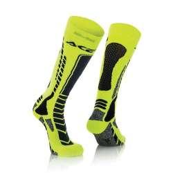 Acerbis Socken Mx Pro Schwarz-Neon Gelb