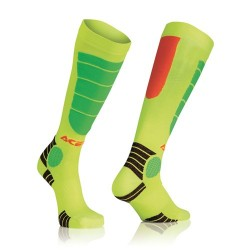 Acerbis Socken Mx Impact Kinder Orange-Gelb