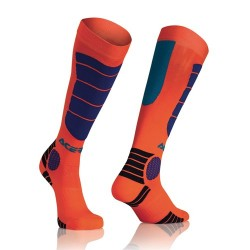 Acerbis Socken Mx Impact Kinder Orange-Blau