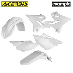 Acerbis Plastic Kit Yamaha Blanc