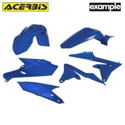 Acerbis Plastic Kit Yamaha Bleu