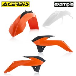 Acerbis Plastic Kit Ktm Orange Fluo