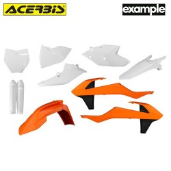 Acerbis Plastic Full Kit Ktm Replica