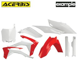 Acerbis Plastic Full Kit Honda Replica
