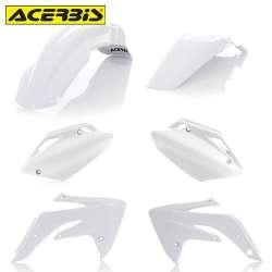 Acerbis Plastic Kit Honda Blanc