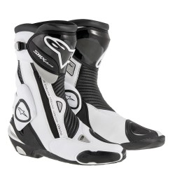 Chaussures Alpinestars S-MX PLUS - Noir/Blanc