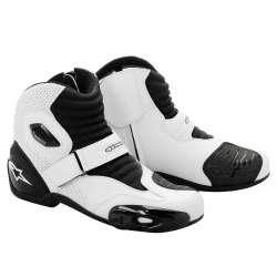 Chaussures Alpinestars S-MX 1 - Blanc/Noir