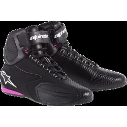Chaussures Alpinestars STELLA FASTER - Noir/Rose