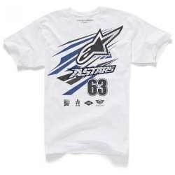 T-Shirt Alpinestars SUPERPRO - Blanc