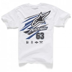 Alpinestars T-Shirt SUPERPRO - Weiss