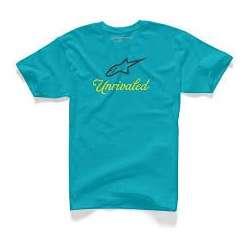 T-Shirt Alpinestars UNRIVALED - Bleu