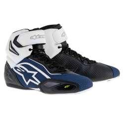 Chaussures Alpinestars FASTER 2 Ventilé Bleumarine-blanc