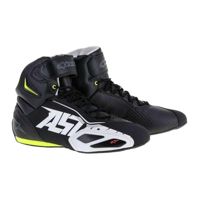 Chaussures Alpinestars FASTER 2 Noir-Jaunefluo