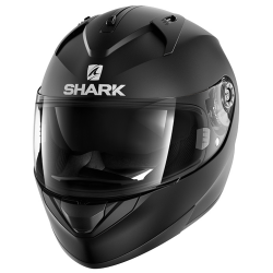 Casque Shark Ridill Blank Mat - Noir-mat