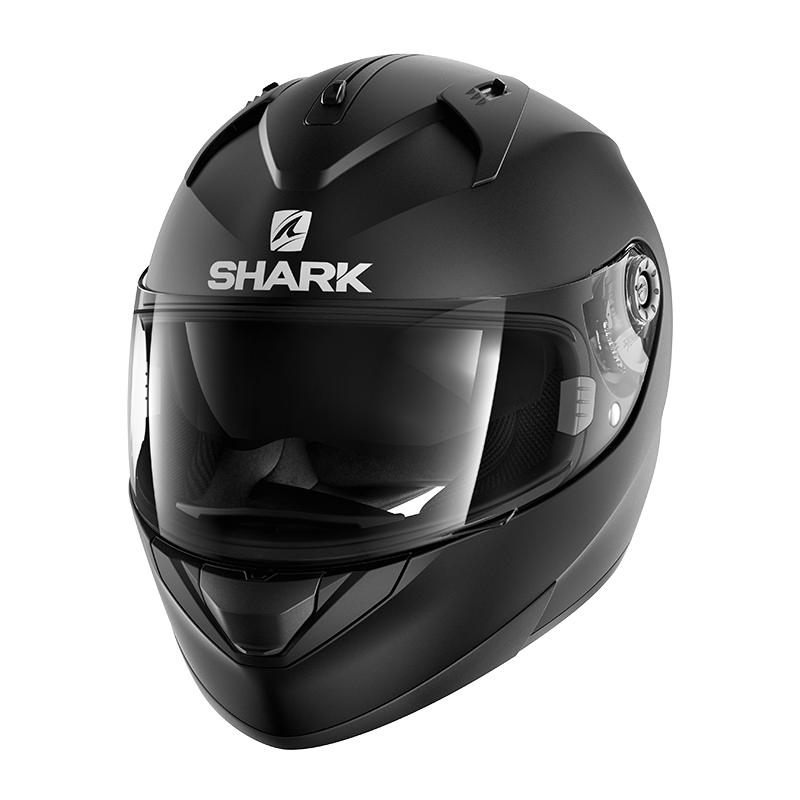 Shark Helm Ridill Blank Mat - Mattschwarz
