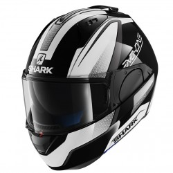 Casque Shark Evo One Astor - Noir-blanc