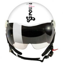Casque New Max GROUPIE BIANCO LUCIDO