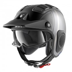 Casque Shark X-DRAK / FIBRE TERRENCE MAT - Noir-anthracite