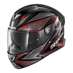 Casque Shark SKWAL 2 DRAGHAL - Noir-anthr.-rouge