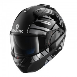 Casque Shark Evo One 2 LITHION DUAL - Noir-anthracite