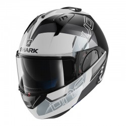 Casque Shark Evo One 2 SLASHER - Blanc-noir-gris