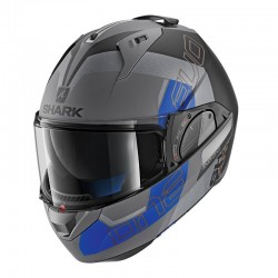 Casque Shark Evo One 2 SLASHER MAT - Anth.-noir-bleu