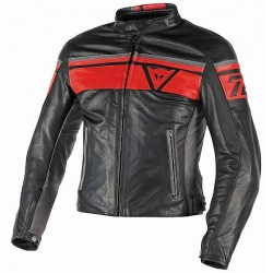 Blouson Dainese Blackjack rouge