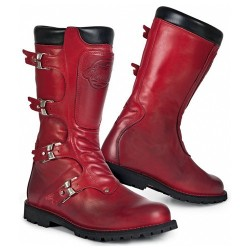 STYLMARTIN BOTTES CONTINENTAL - ROUGE