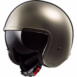 Casque LS2 OF599 Spitfire Solid chrome