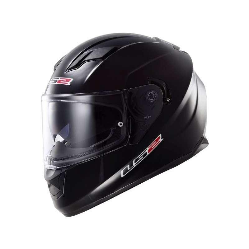 LS2 Helm FF320 Stream Evo Solid matt schwarz