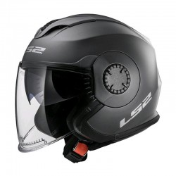 LS2 Helm OF570 Verso Solid titan/gun