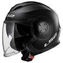 LS2 Helm OF570 Verso Solid matt schwarz