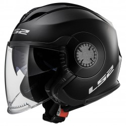 LS2 Helm OF570 Verso Solid matt schwarz