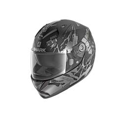 Shark Helm RIDILL DRIFT-R MAT - Schwarz-anthrazit
