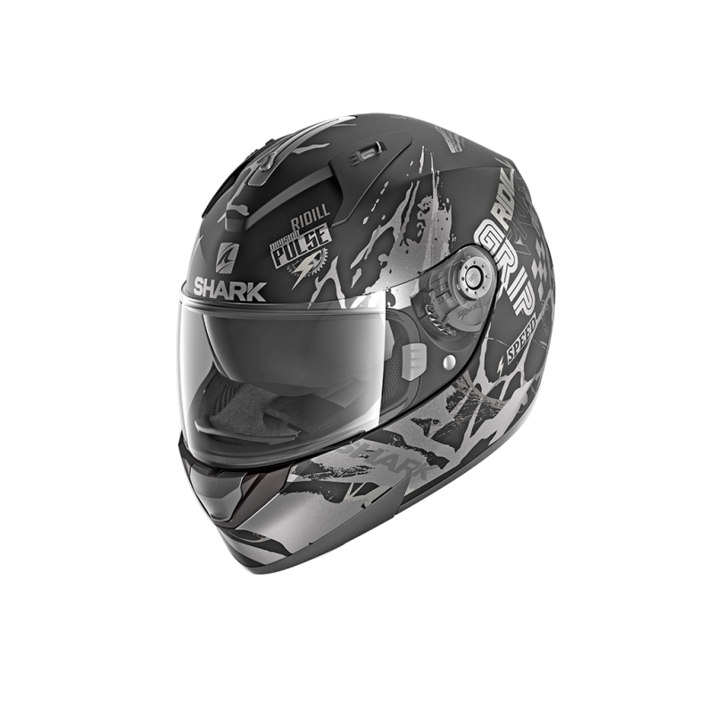 Casque Shark RIDILL DRIFT-R MAT - Noir-anthracite