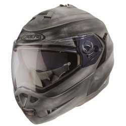 Caberg Helm DUKE II IRON - Gebürstetes Metal