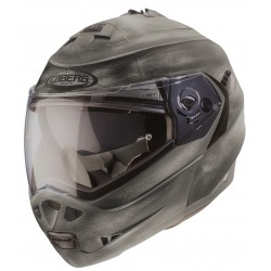 Casque caberg DUKE II IRON - Metal brossé