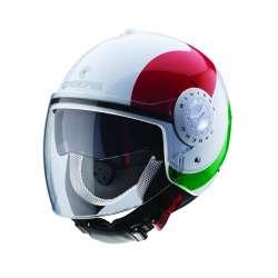 Caberg Helm RIVIERA V3 SWAY ITALIA - Weiss-rot-grün
