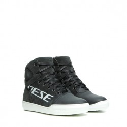 BOTTES DAINESE YORK LADY D-WP SHOES  DARK-CARBON/BLANC