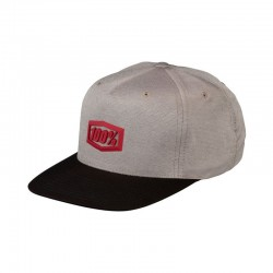 100% Enterprise Snapback Hat warm gris