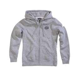 100% Cosmic Zip Sweatshirt dames gris