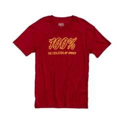 100% Speedco Shirt rouge