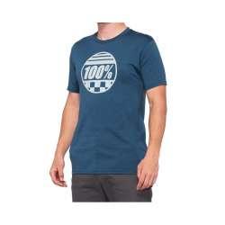 100% Sector Shirt bleu